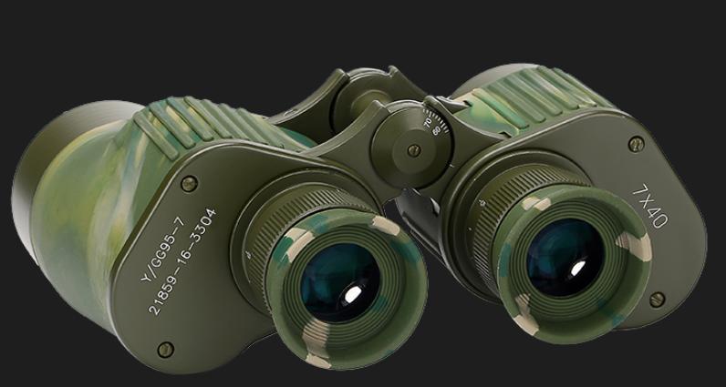 正宗95式7*40望远镜如何鉴定真伪