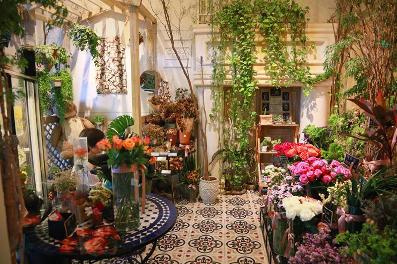 想开花店去哪里学插花?