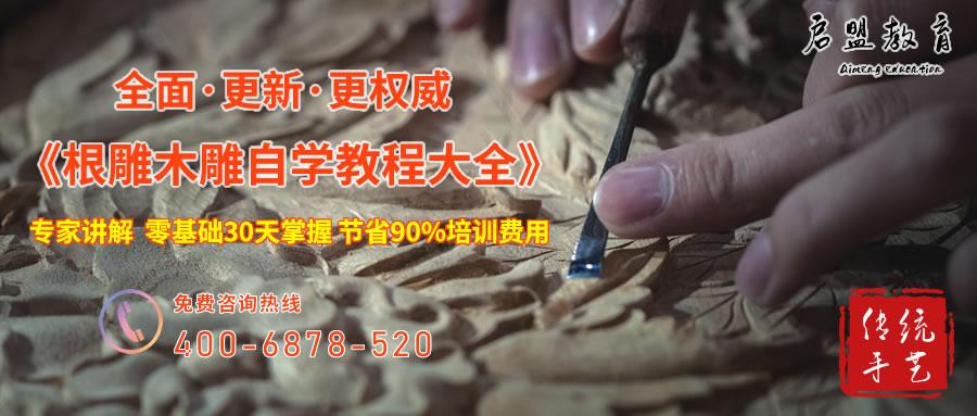 〔精品课程〕2019新版《木雕自学教程大全》